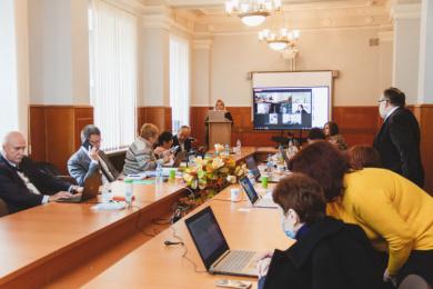 Захист дисертації на соціологічному факультеті - Ксенія Кізілова