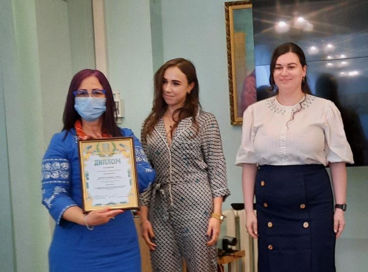Вітаємо переможницю XV Регіонального наукового конкурсу молодих вчених «Гендерна політика очима української молоді»